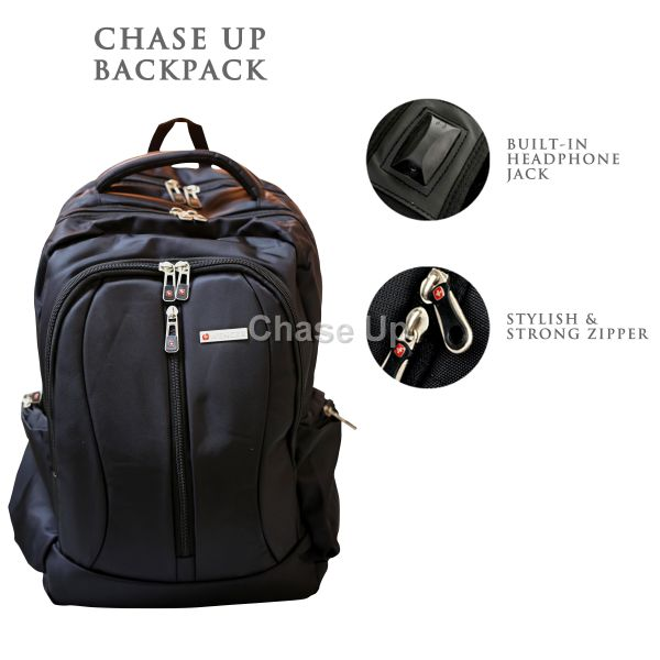 Gents Backpack 8616 TI-014 Imp (Black)
